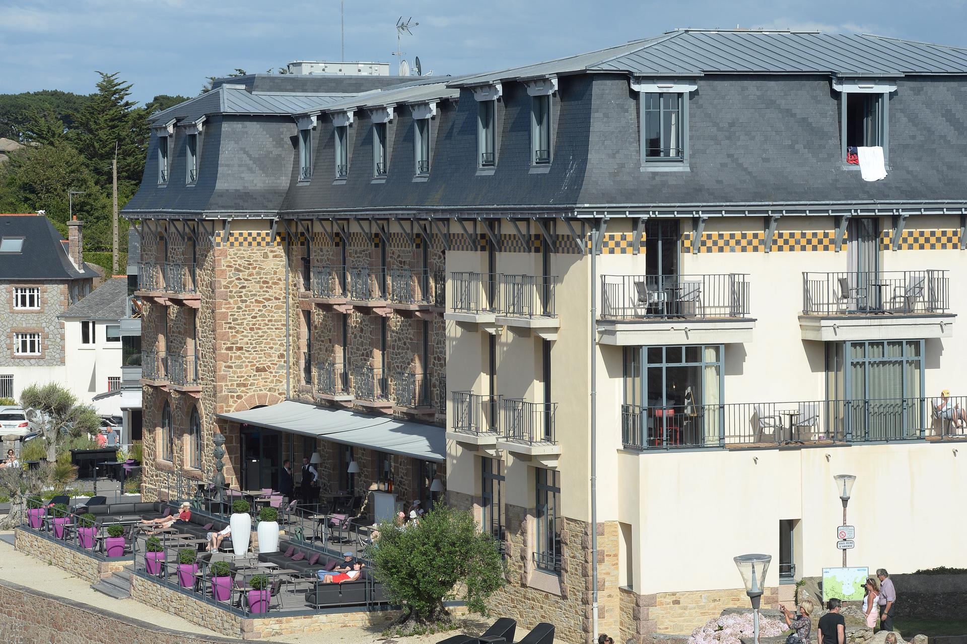 Hôtel Castel Beausite à Ploumanac'h