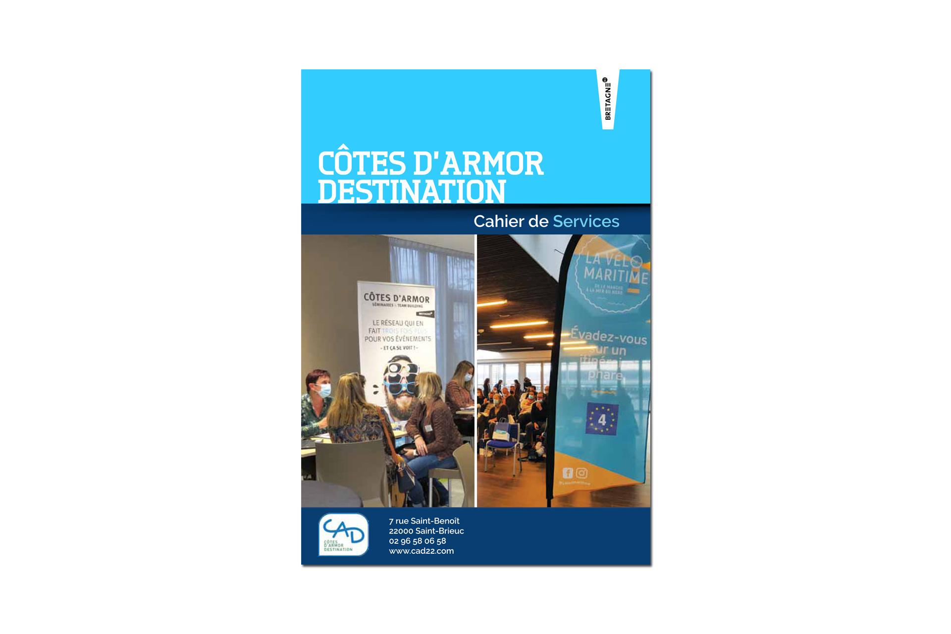 Cahier de serives Côtes d'Armor Destination