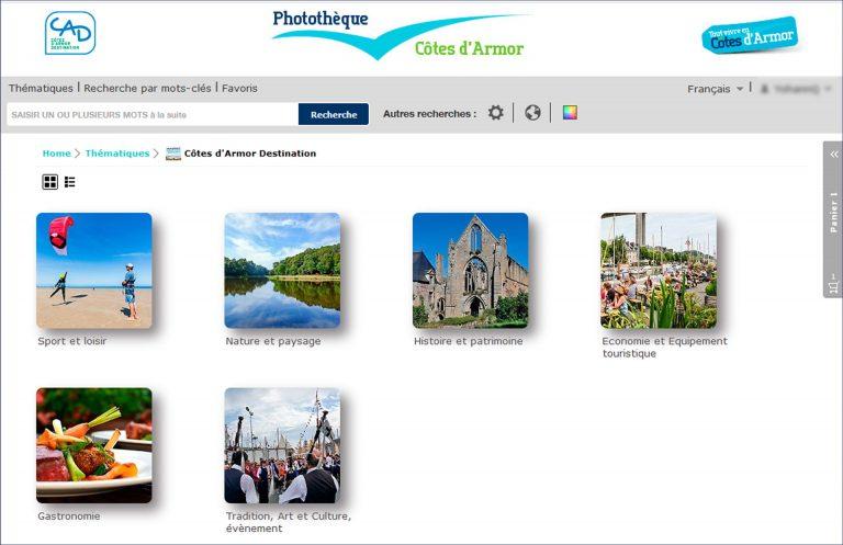 Photothèque en ligne des Côtes d'Armor