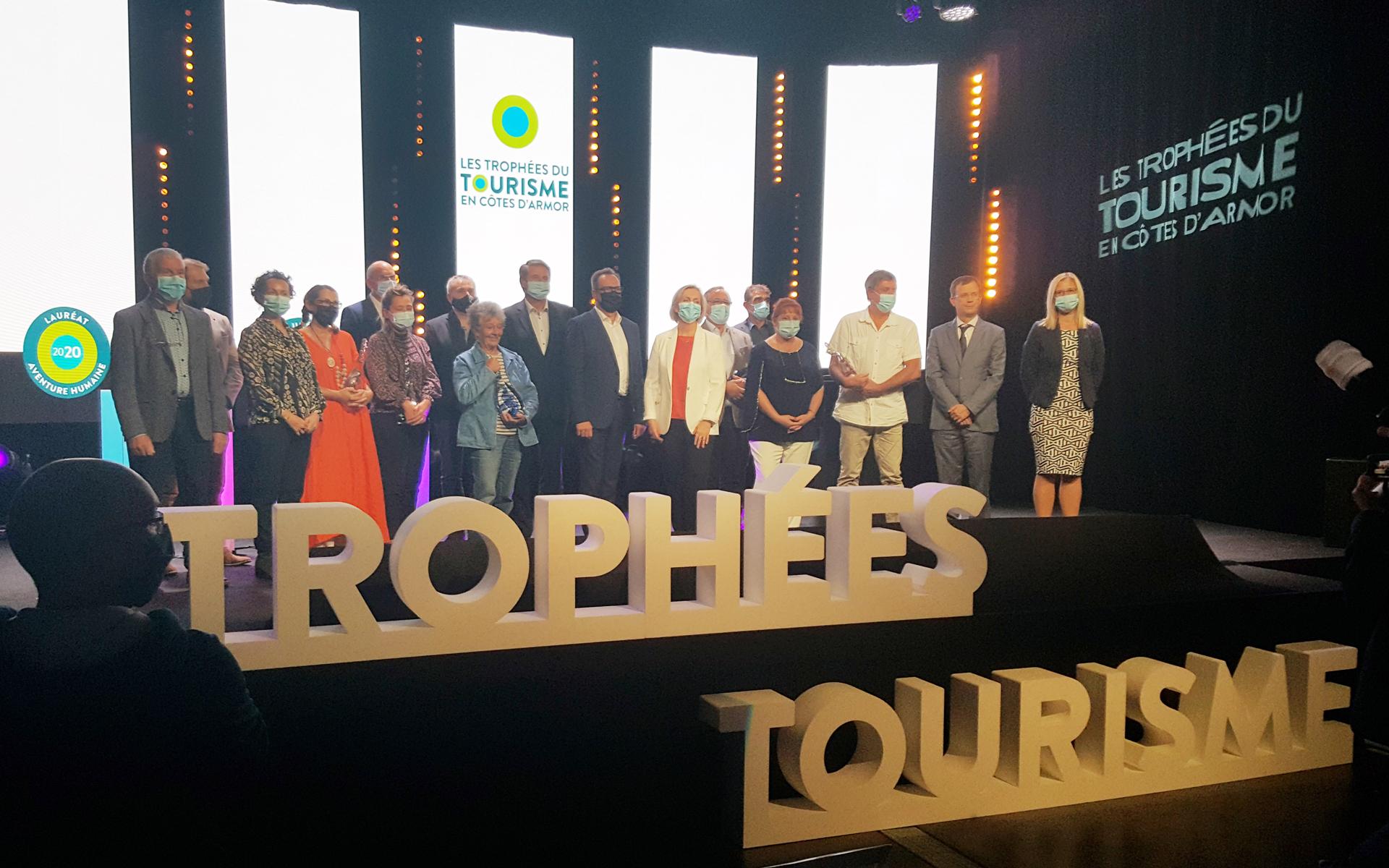 Les lauréats des Trophées du Tourisme en Côtes d'Armor 2020