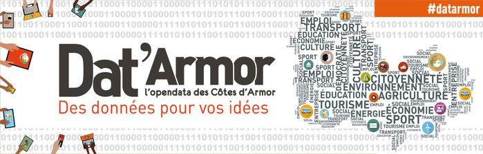 Dat'Armor L'open Data des Côtes d'Armor