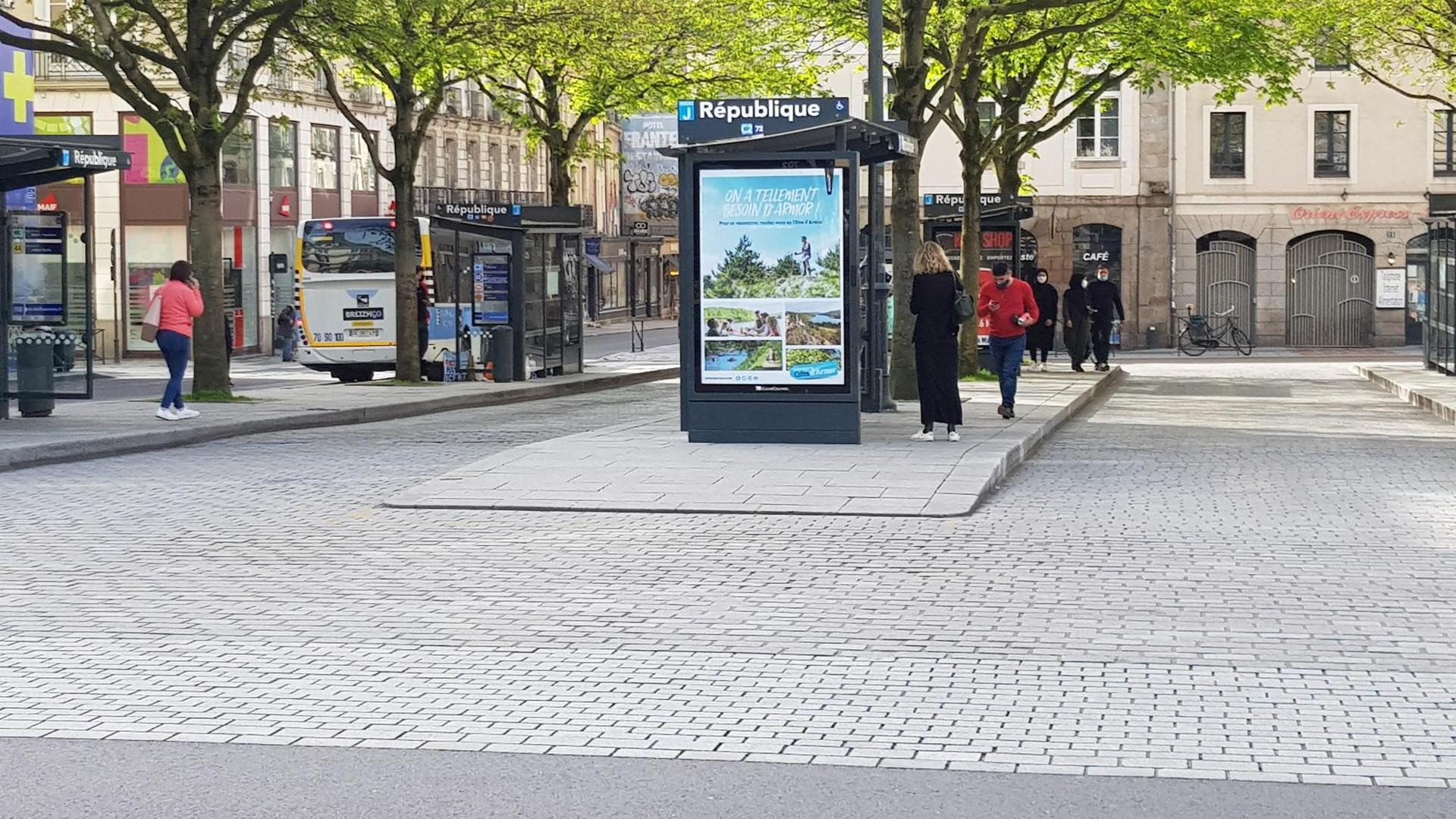 Campagne touristique 2021 à Rennes
