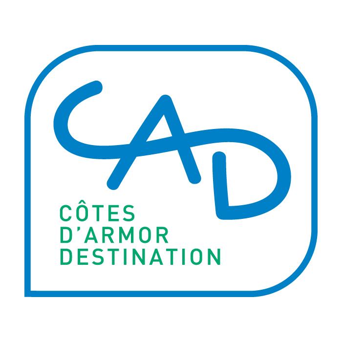 le logo de Côtes d'Armor Destination