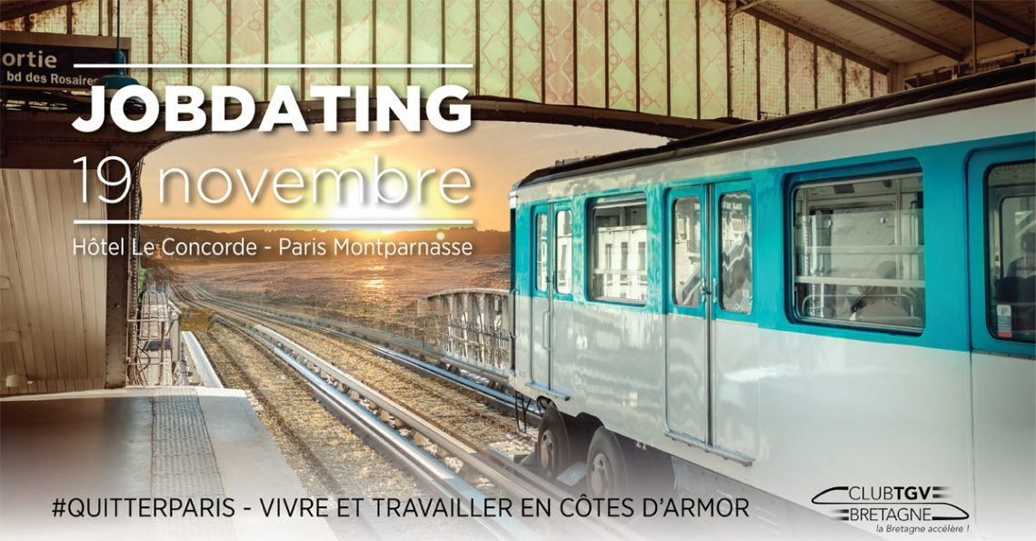 Job Dating Côtes d'Armor à Paris