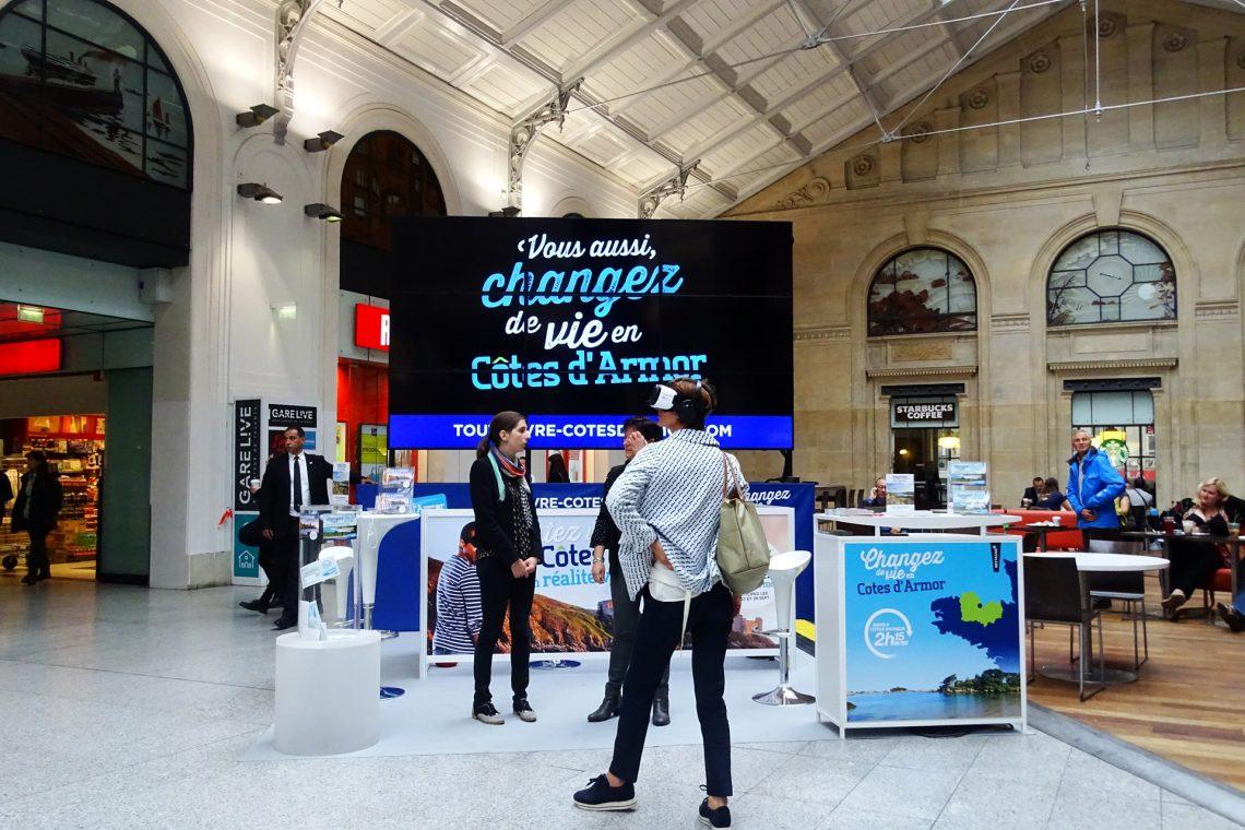 Gare Saint-Lazare Tout vivre en Côtes d'Armor
