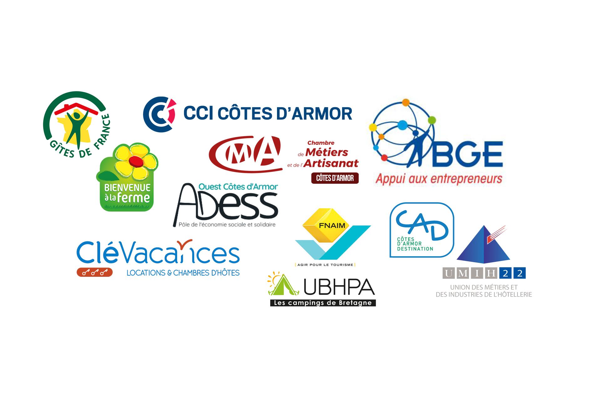 Les organismes d'appui aux projets touristique en Côtes d'Armor