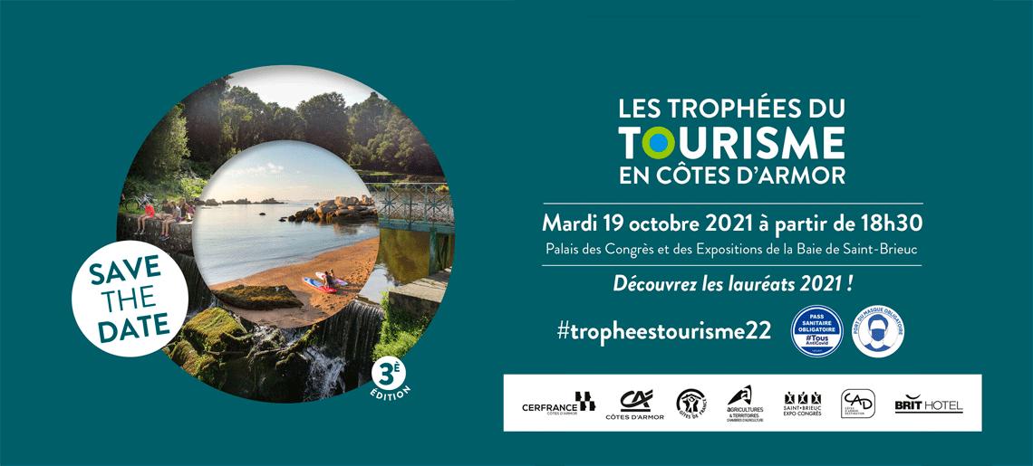 Save the date Trophées du Tourisme 2021